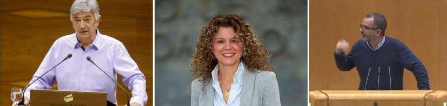 Tres candidatos presentados para Senador Autonómico en Navarra