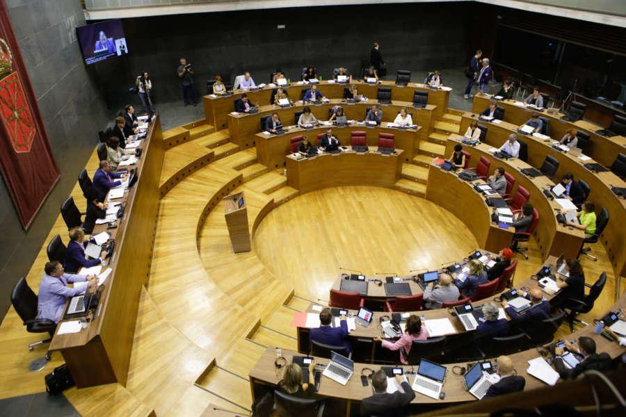 PSN, Geroa Bai, Bildu e I-E votan en contra de la enmienda de NA+ a las medidas fiscales