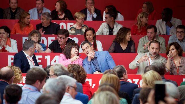 Líderes del PSOE llegan al Comité con un mensaje: