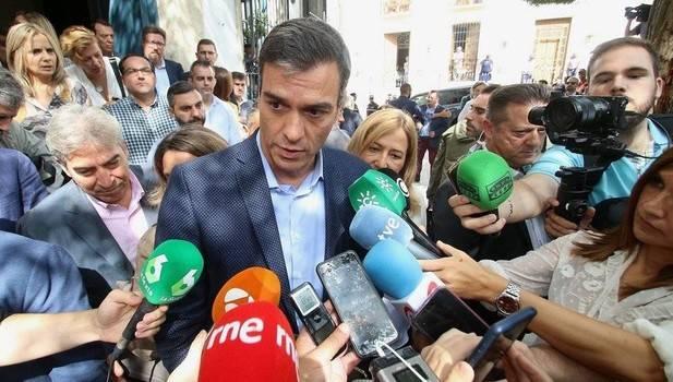 """Sánchez responde a Rivera: """"No hay ningún obstáculo real"""" para que PP y Cs se abstengan"""