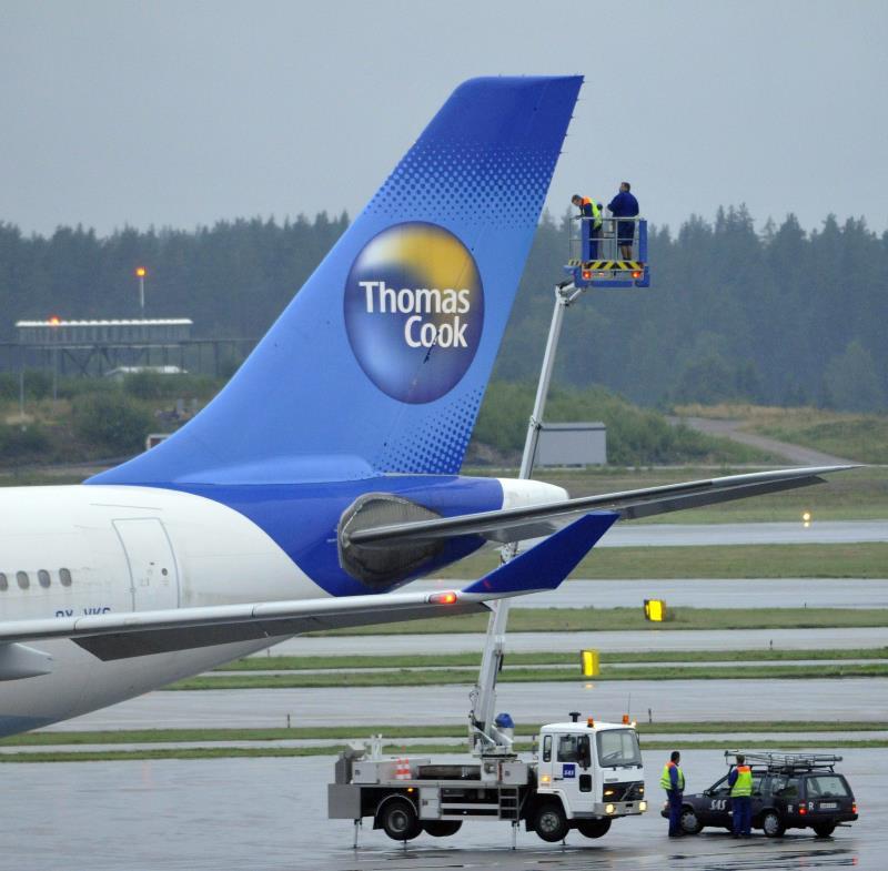 Thomas Cook suspende pagos y deja varados a miles de turistas por todo el mundo