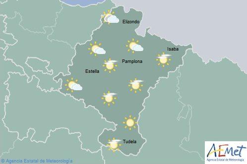 El tiempo para hoy martes en Navarra