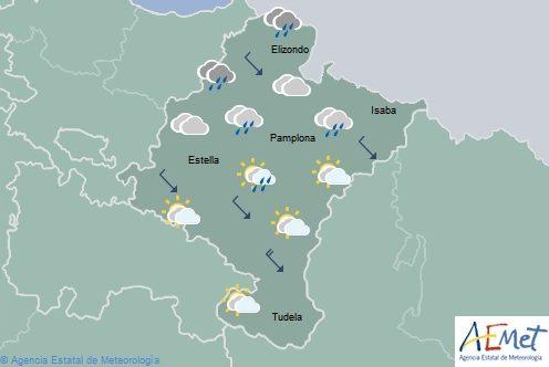 El tiempo para hoy miércoles en Navarra
