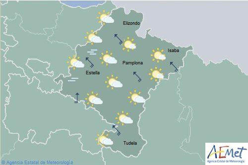 El tiempo hoy domingo en Navarra