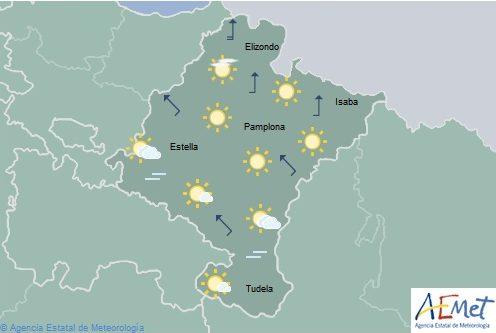 El tiempo en Navarra para hoy sábado