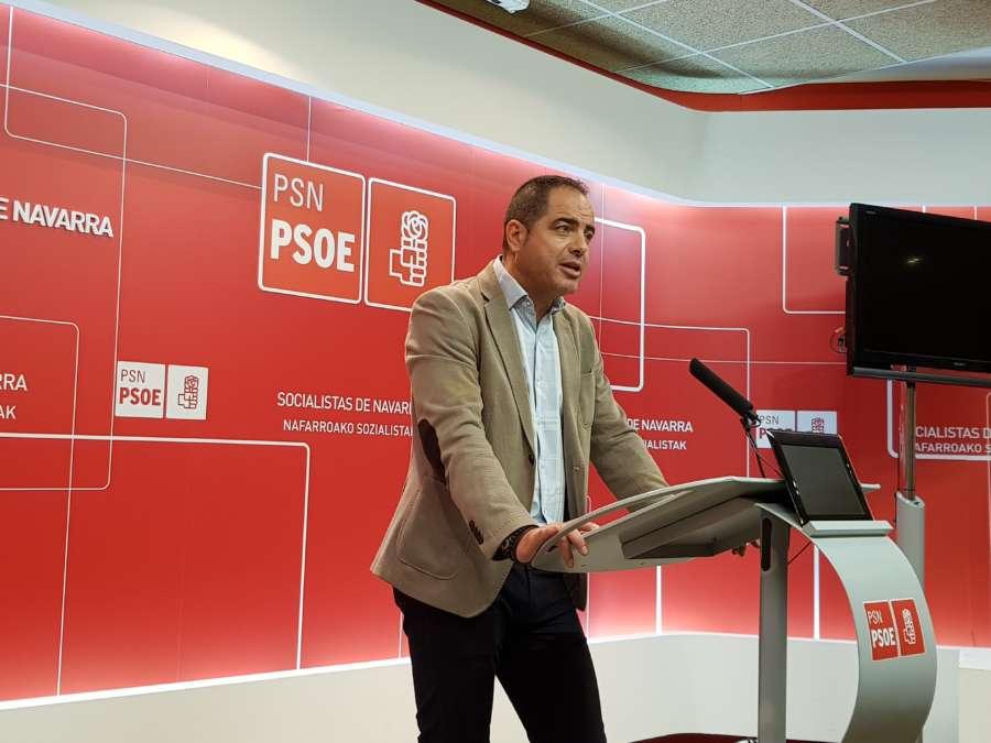 Alzórriz (PSN): El acuerdo del Gobierno con Bildu para los Presupuestos de Navarra