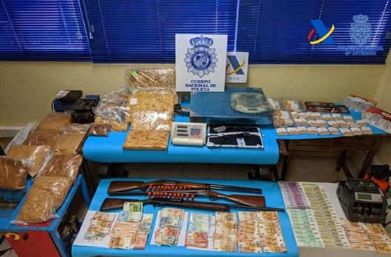 Incautadas tres toneladas de tabaco picado en Jaén, Granada y Sevilla
