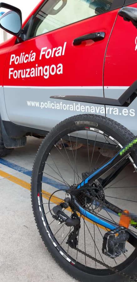 Detenido en Tudela un hombre por el robo de una bici