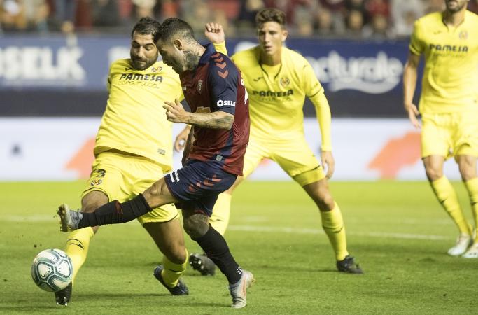 Rubén García será baja en Osasuna durante una semana