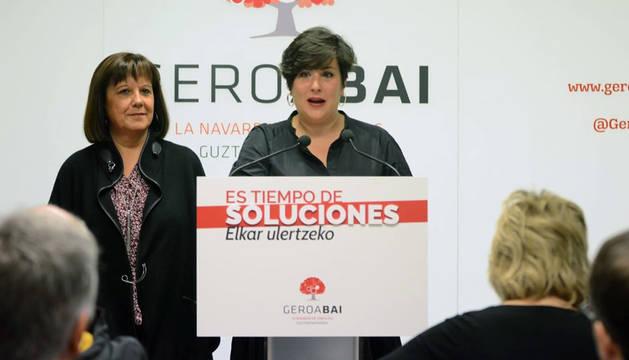 10N: Geroa Bai quiere ser en Madrid la voz