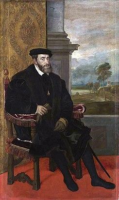 Carlos, Rey de España, Emperador del Sacro Imperio Romano Germánico