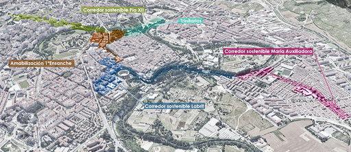Bildu, PSN y Geroa Bai piden información sobre el corredor del Labrit
