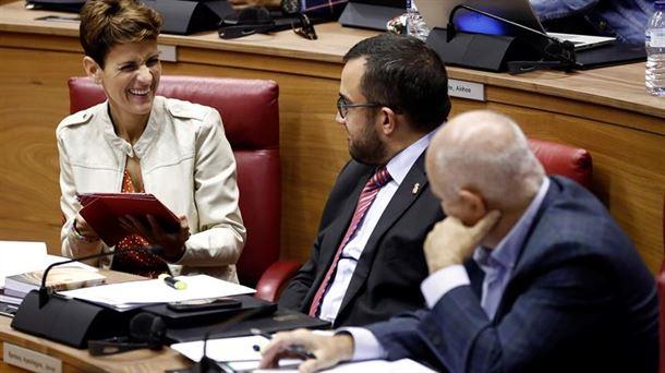 Chivite dice que el Gobierno mantendrá la zonificación del euskera