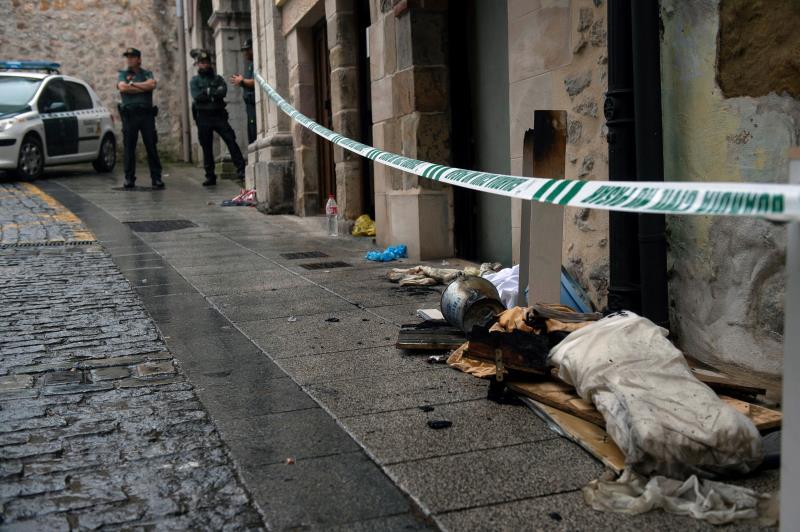 Mueren una mujer y su hija de 7 años en un incendio en su piso en Laredo (Cantabria)