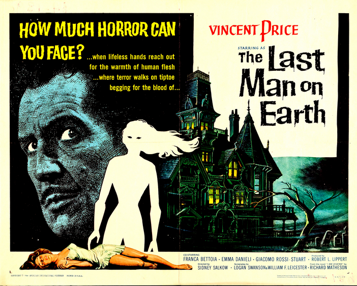 Este lunes comienza el VIII Festival de Cine Fantástico y de Terror con 'El último hombre sobre la Tierra'