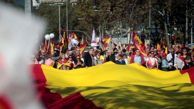 La Cataluña constitucionalista avisa que