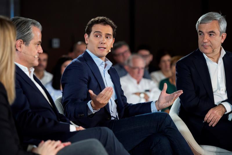 10N: Rivera pone como ejemplo el Gobierno andaluz de PP y Ciudadanos frente al
