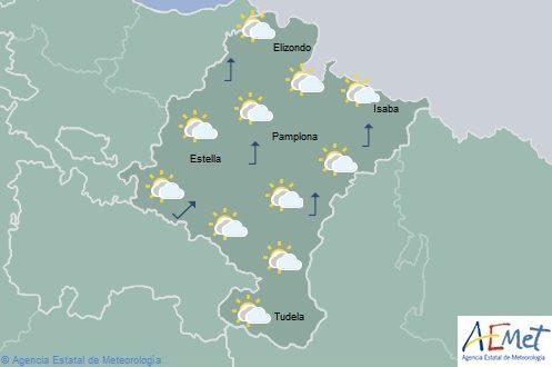 El tiempo en Navarra hoy jueves