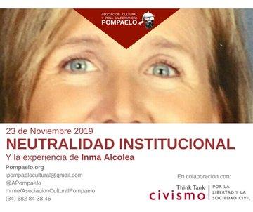AGENDA: 23 de noviembre, en Colegio San Francisco de Pamplona, charla y mesa redonda con Inma Alcolea