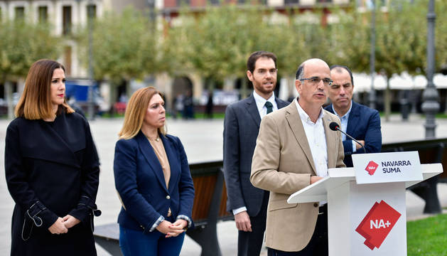 Catalán (NA+): Los socios de Chivite boicotean obras vitales para Navarra