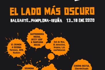 'El lado más oscuro' del crimen llega a Baluarte el lunes con el comienzo de la sexta edición de Pamplona Negra