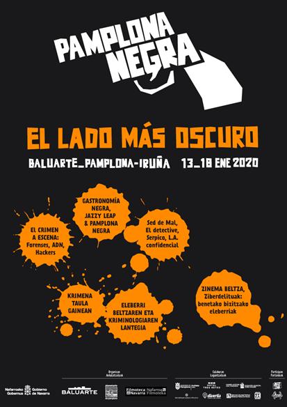 """El VI Festival """"Pamplona negra"""" indaga en """"el lado más ocuro"""" del crimen"""
