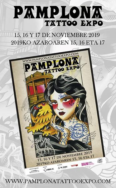 Pamplona Tattoo Expo llena la ciudad de color y arte en su segunda edición
