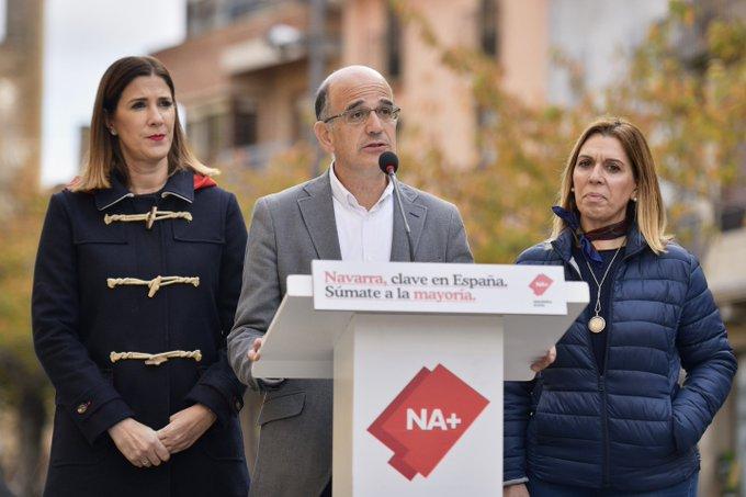 10N.- Se repite el resultado de elecciones al Senado: tres escaños Na+ y uno el PSN