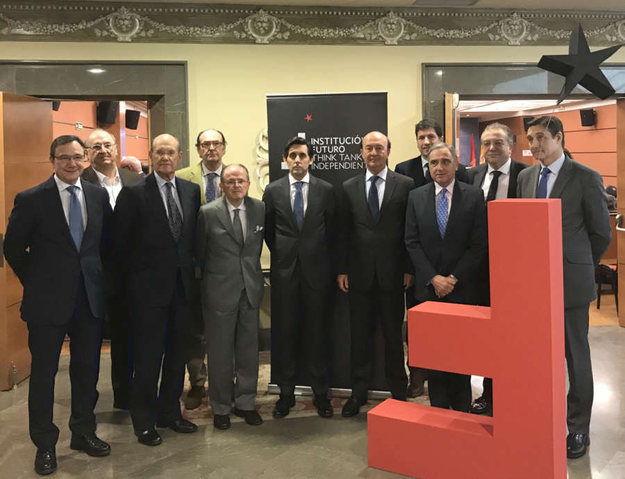 El Rey celebrará una audiencia con los miembros del think tank navarro Institución Futuro