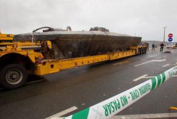 Confirman que el submarino hallado en Galicia llevaba 3 toneladas de cocaína