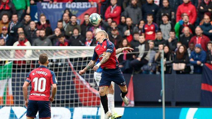 1-2. El Athletic toma El Sadar y rompe el récord de Osasuna
