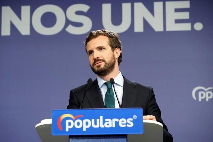 Casado hace un nuevo guiño a Cs dentro de su estrategia por España Suma