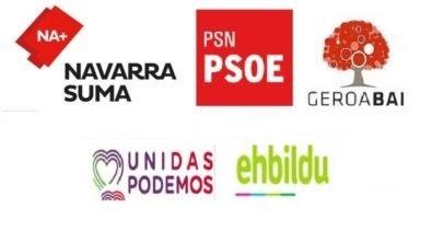 10N Navarra: Cruce de reproches en el segundo día de campaña
