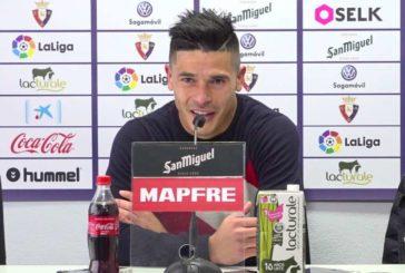 """Roncaglia (Osasuna): """"Queremos resarcirnos del partido frente al Athletic"""""""