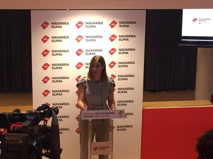 La senadora Ruth Goñi asegura que no entrará en el PP tras dejar Ciudadanos