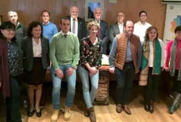 El alcalde de Pamplona participa en la X Junta Directiva de la Asociación de Municipios del Camino de Santiago celebrada en Lugo
