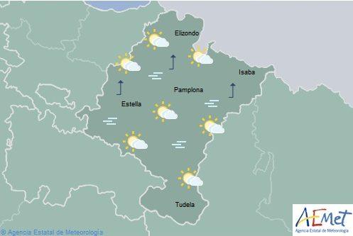 El tiempo hoy viernes en Navarra