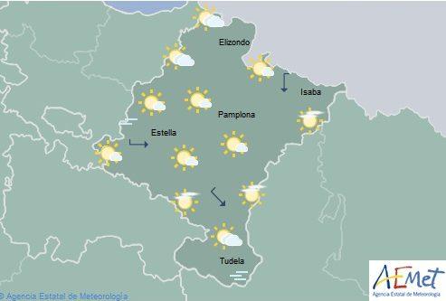 El tiempo en Navarra hoy sábado