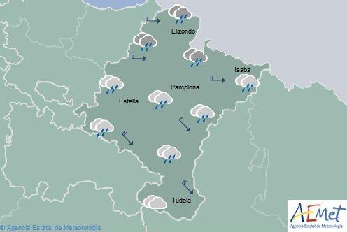 El tiempo en Navarra para hoy viernes