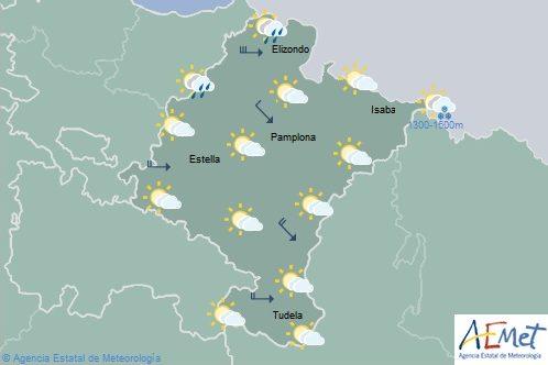 El tiempo en Navarra hoy domingo