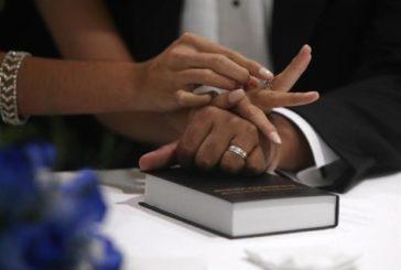 Las rupturas matrimoniales crecen un 1,4 % entre julio y septiembre