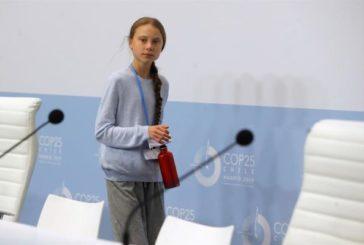 Thunberg: la emergencia climática no es un problema futuro, ya nos impacta