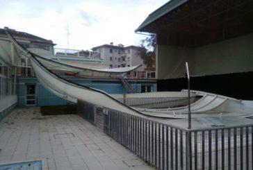 Guelbenzu permanecerá cerrado mientras se procede a la valoración de daños por el temporal