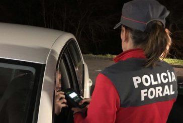 22 accidentes de tráfico este fin de semana en Navarra, con un fallecido y dos heridos