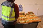 Policía Nacional incauta 30 kilos de heroína en la localidad navarra de Imárcoain (Navarra)