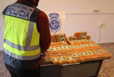 Policía Nacional incauta 30 kilos de heroína en la localidad navarra de Imárcoain