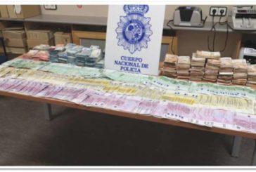 Incautados 1.300 kilos de cocaína en España procedentes de Colombia