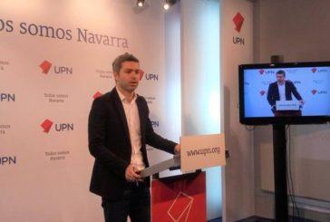 """Jorge Esparza (Navarra+): """"Negacionismo es negarse a aceptar ningún cambio en fiscalidad"""""""