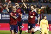 1-1. Osasuna rescata un punto en un partido trepidante contra el Sevilla