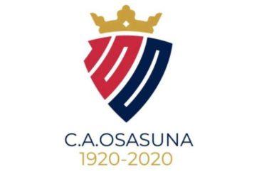 Osasuna presenta el logo para su centenario
